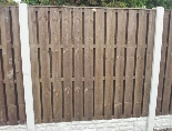 <p><em><strong>Closeboard Hit/Miss panels look the same on both sides. There is a gap between the boards and this makes it an ideal choice for fence erected in particularly windy positions. The gap allows the air to flow through and so making the fence less resistant.</strong></em></p><p><em><strong>The only difference from the standard Hit/Miss panels is that the boards are closer together.</strong></em></p>